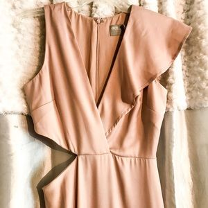 Satin Mauve Gown